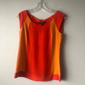 NWT! French Connection Orange Blouse